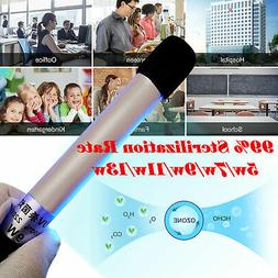 LED UV Disinfection Lamp Battery Charging Portable UVC Steri