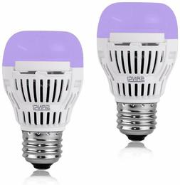SANSI LED UV LED Black Light Bulbs 5W E26 Glow in The Dark f