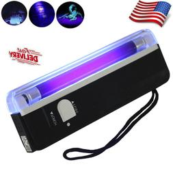 Mini Handheld UV Black Light Torch Lamp Portable Blacklight