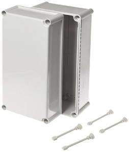 BUD Industries NBD-15445 Style D Plastic Outdoor Box with So
