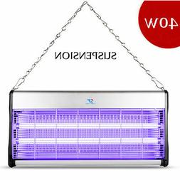 New 110V 40W Indoor Electric UV Mosquito Killer Bug Zapper P
