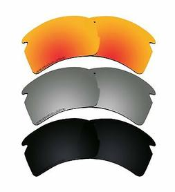 New 3 Pairs Polarized Lenses Replacement K1 for Oakley FLAK