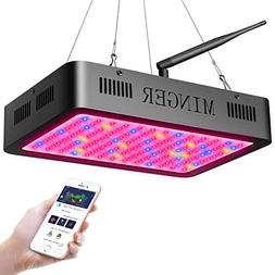 MINGER LED Plant Grow Light 600W with APP Control, Adjustabl