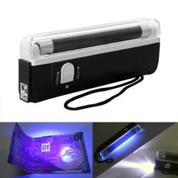Portable Handheld UV Light Torch Blacklight Counterfeit Bill