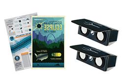 Power Viewers Solar Eclipse Observing Kit ISO Certified Safe