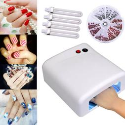 Pro Nail Polish Dryer Lamp 36W LED UV Gel Acrylic Curing Lig