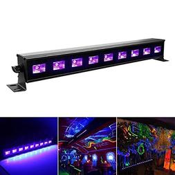 9x3W Purple LED Bar Wall Washer Lamp US Plug for DJ Party Cl