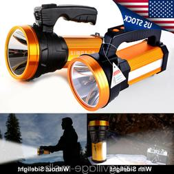 Rechargeable LED Searchlight Handheld Portable Spotlight /UV
