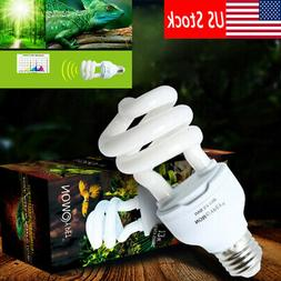 Reptile UV UVB E27 Compact Lamp Light Bulb 5.0 10.0 Compact