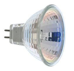 Satco S1960 50 Watt MR16 Halogen GX5.3 Base 12 Volt Clear FL
