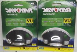 Rayovac Sportsman White LED, Night Vision & UV  Hat Clip Lig