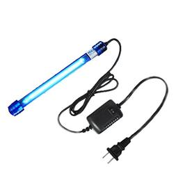 rOXIN 11W Submersible UV Light for Aquarium Water Clean Gree