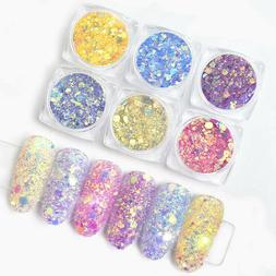 sun light uv nail art changing color