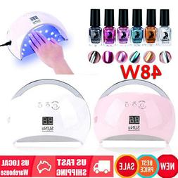 SUNUV 48W SUN6 Professional LED UV Nail Lamp Led Nail Light