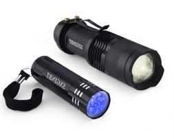 SXGINBT 365nm UV Light, UV Flashlight, Ultraviolet LED Short