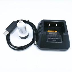 USB Cable Battery Charger with Indicator Light + Car Cigaret