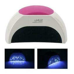 SUNUV Sun2 48W UV LED Light Lamp Gel Nail Dryer With Timer S