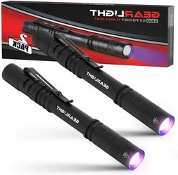 GearLight UV Black Light Flashlight S100  - Mini Blacklight