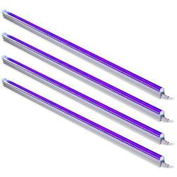 Barrina UV LED BlackLight bar 22w 4ft T5 Integrated Bulb Bla