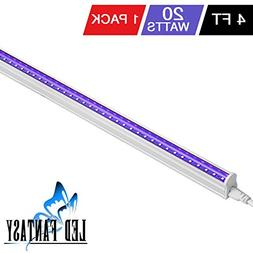 LED FANTASY UV LED BlackLight bar 20w 4ft T5 Integrated Bulb