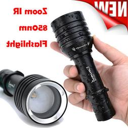 UV CR-1706 Zoomable IR 850nm Flashlight Night Vision Infrare