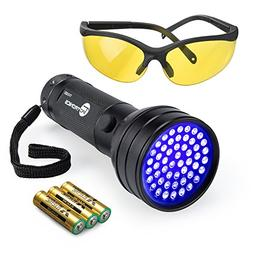 uv flashlight black lights