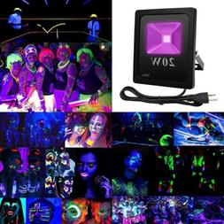 UV LED BLACK Light Fixtures 20W Flood Outdoor Waterproof IP6