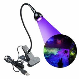 UV LED Black Light, UV Black Light Fixture for Stain Detecti