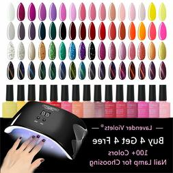 uv led gel nail polish soak off