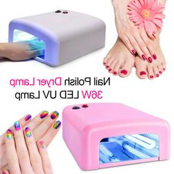 UV Nail LAMP Light 36W Dryer Gel Acrylic Polish Curing Light