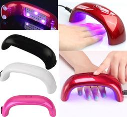 UV Nail LAMP Light 9W Dryer Curing Acrylic Gel Polish Mini P
