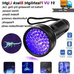 UV Scorpion Blacklight Detector Torch Ultra Violet Flashligh