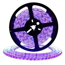 UV/Ultraviolet Black Lights LED Strip 300 LEDs 16.4Ft/5M 352