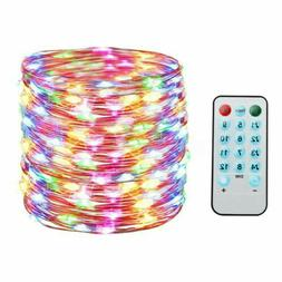 Waterproof LED Strip Fairy Copper String Lights Xmas Party D