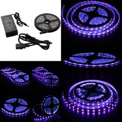 Wholesale16ft 5050 UV UltraViolet Purple Fish Black Light 30